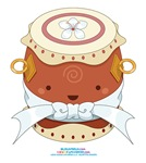 Kawaii Male Taiko Drum