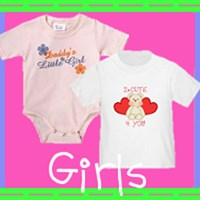 Girls T-Shirts and Gifts