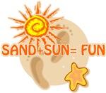 Sand+Sun=Fun