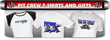 Pit Crew T-Shirts and Gifts
