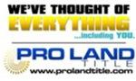 ProLand Title