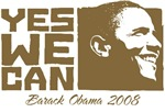 Yes We Can (brown) 