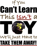 Tasers are NOT Toys