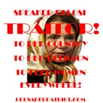 Speaker Pelosi - The Traitor!