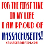 PROUD OF MASSACHUSETTS!