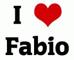 I Love Fabio