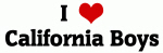 I Love California Boys