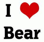 I Love Bear