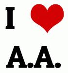 I Love A.A.