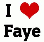 I Love Faye