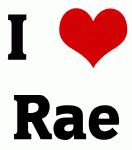 I Love Rae