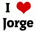 I Love Jorge