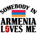 Somebody In Armenia T-shirts