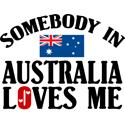 Somebody In Australia T-shirts