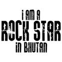 Rock Star In Bhutan T-shirts