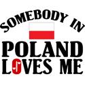 Somebody In Poland T-shirt