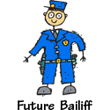 Bailiff T-shirt, Bailiff T-shirts