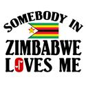Somebody In Zimbabwe T-shirt