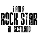 Rock Star In Scotland T-shirts