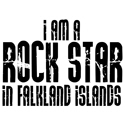 Rock Star in Falkland Islands T-shirts
