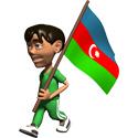 3D Azerbaijan T-shirt