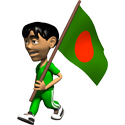 3D Bangladesh T-shirts