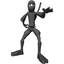 3D Ninja T-shirts
