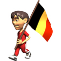 3D Belgium T-shirts
