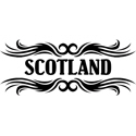 Tribal Scotland T-shirts