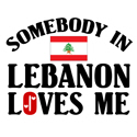 Somebody In Lebanon T-shirt