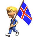 3D Iceland T-shirt