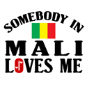 Somebody In Mali T-shirt