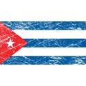 Vintage Cuba Flag