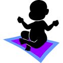 Cute Yoga Baby