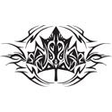 Tribal Maple Leaf
