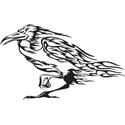 Flaming Raven
