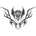 Tribal Vampire Tattoo