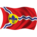 Wavy St. Louis Flag