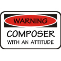 Composer T-shirt, Composer T-shirts