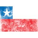 Vintage Chile Flag
