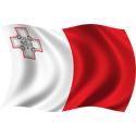 Wavy Malta Flag