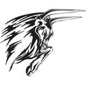 Flaming Bull Tattoo