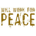 Vintage Will Work For Peace Merchandise