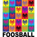 Pop Art Foosball