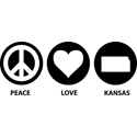 Peace Love Kansas