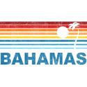 Retro Bahamas Palm Tree