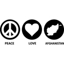 Peace Love Afghanistan