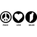 Peace Love Belize