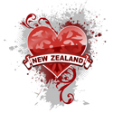 Heart New Zealand T-shirt