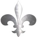 Metallic Fleur De Lis